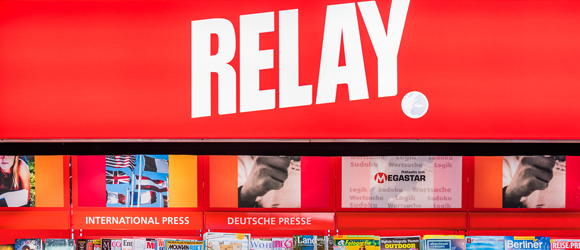 New relay at Tegel Airport