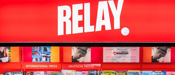 Neuer Relay am Flughafen Tegel