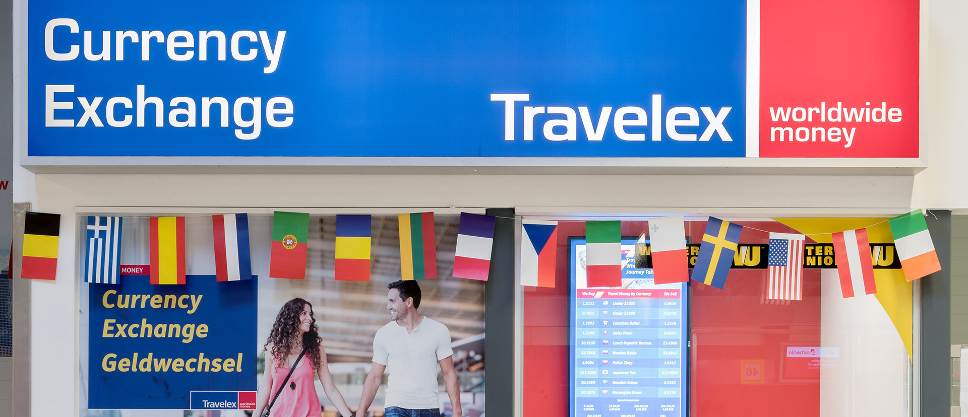 Money for your holiday: ATMs and exchange counters in our airports
