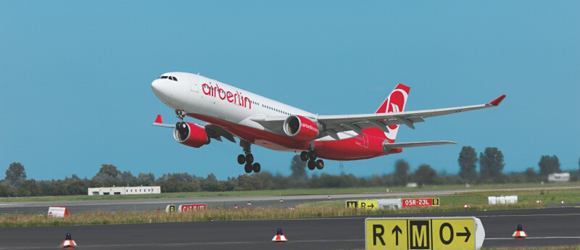 airberlin extends its range of flights to Paris, Tel Aviv, Poland and the USA