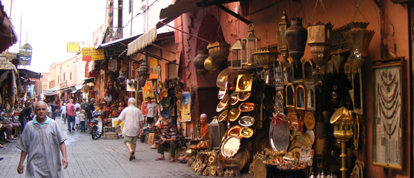 Fly SunExpress to visit the ochre city Marrakech