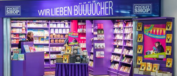 Neuer Buchladen in Schönefeld
