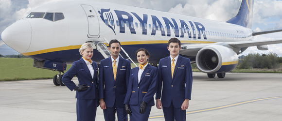 New destinations from Ryanair: Bucharest, Catania, Niš, Podgorica and Santander
