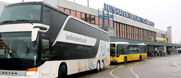 Mit dem Fernbus zum Flughafen Schönefeld