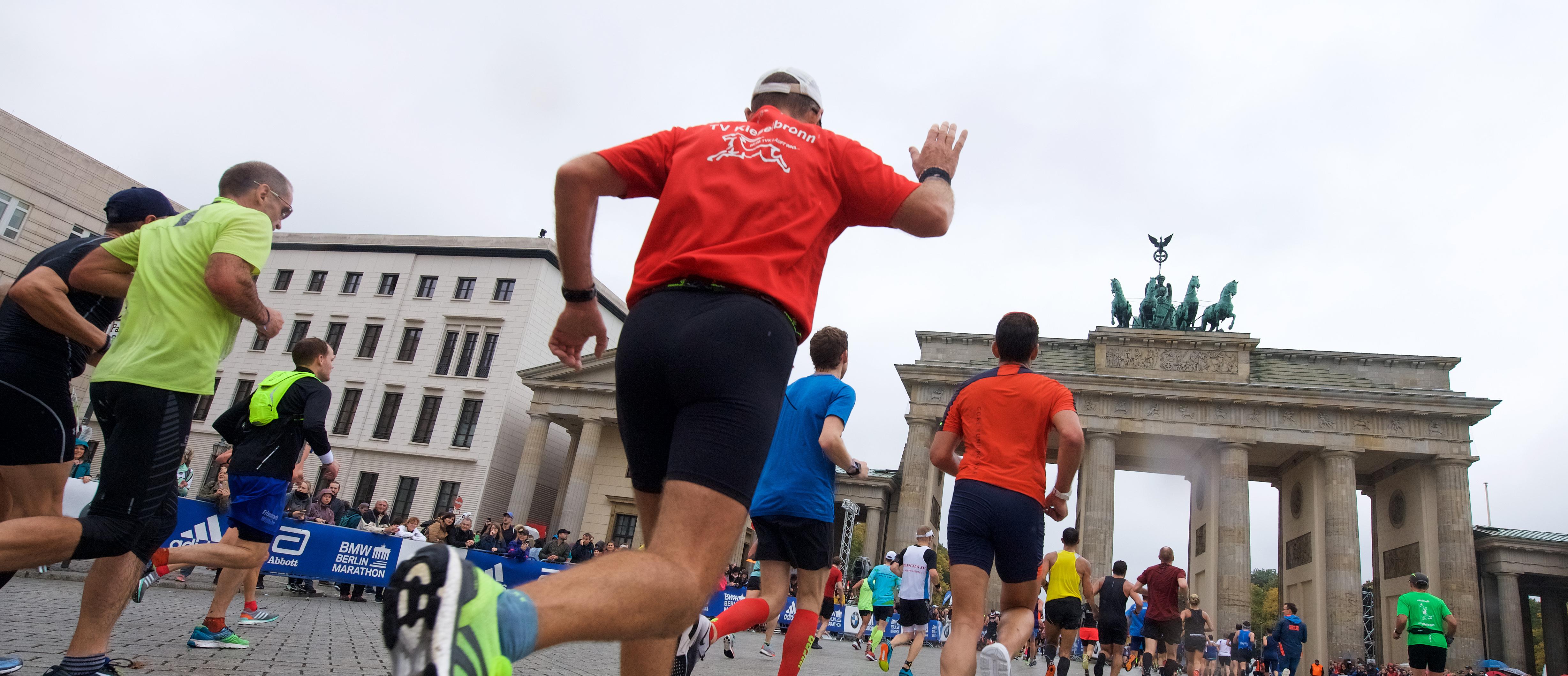 Wo laufen sie denn? BMW Berlin-Marathon am 15. und 16. September