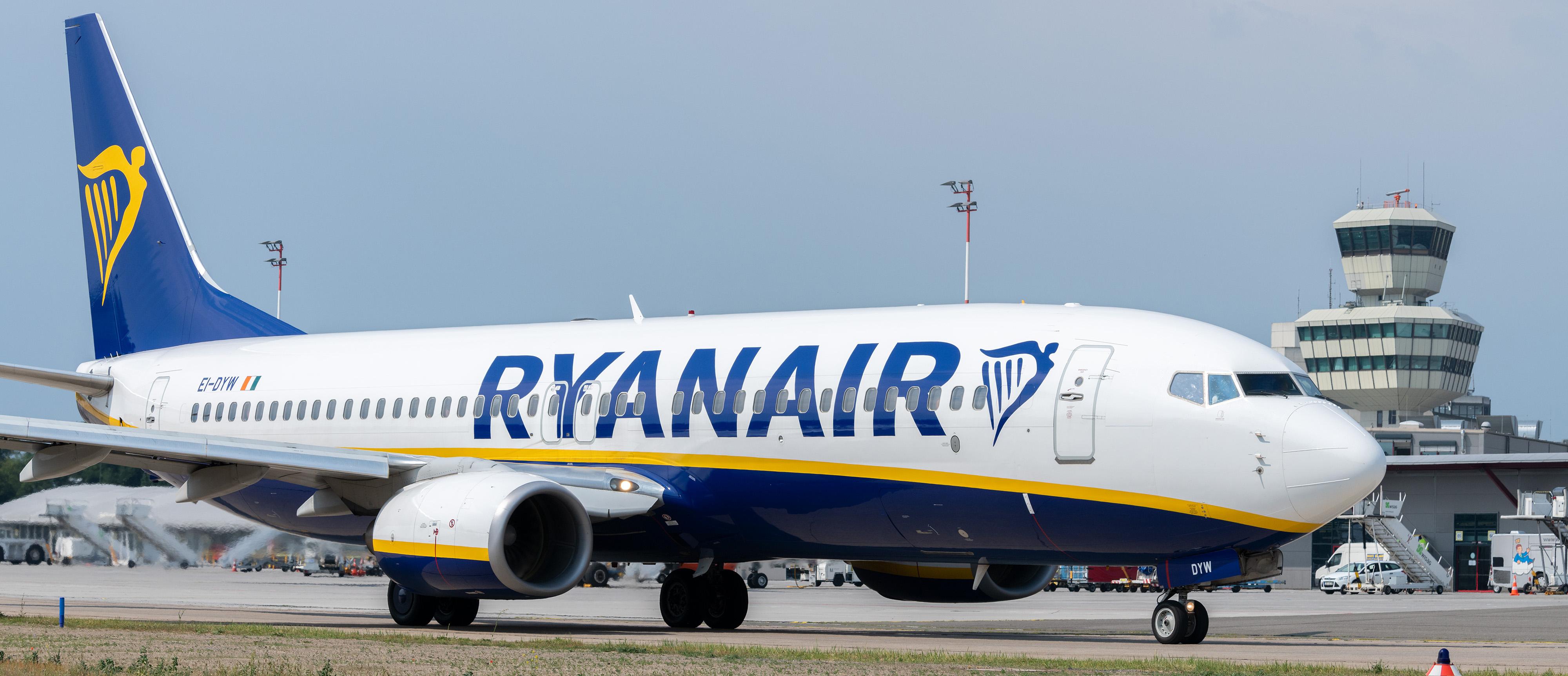 Ryanair fliegt auf Berlin