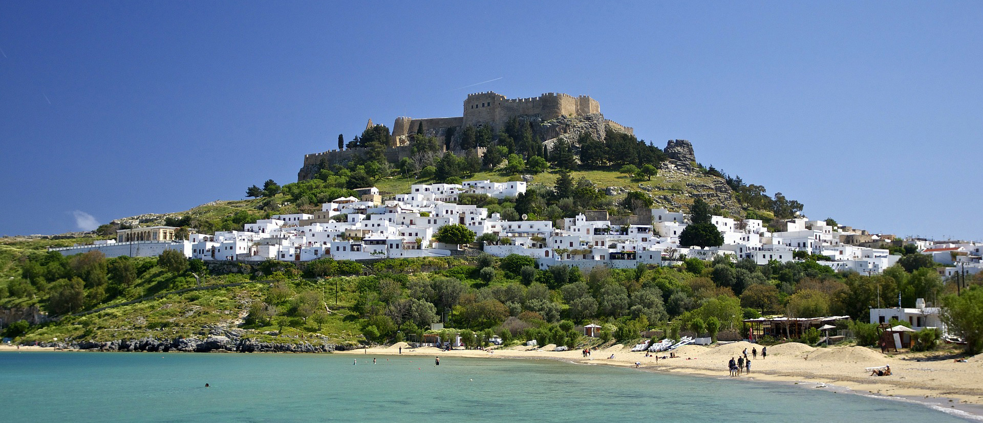 Antique treasures, Aegean-coast and Olive groves: Now with easyJet to Rhodes