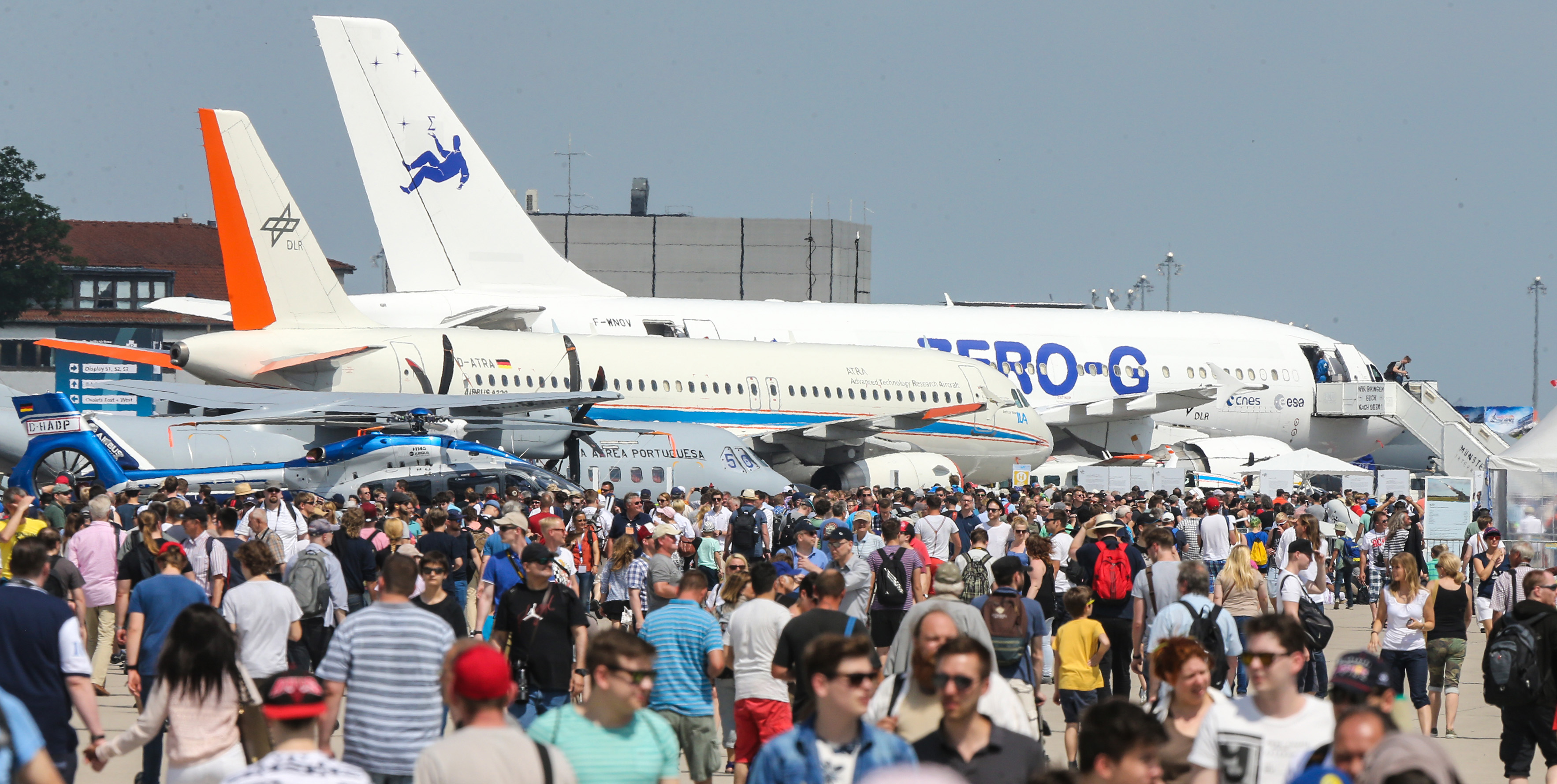 Go airborne! ILA Berlin Air Show from 25th to 29th April