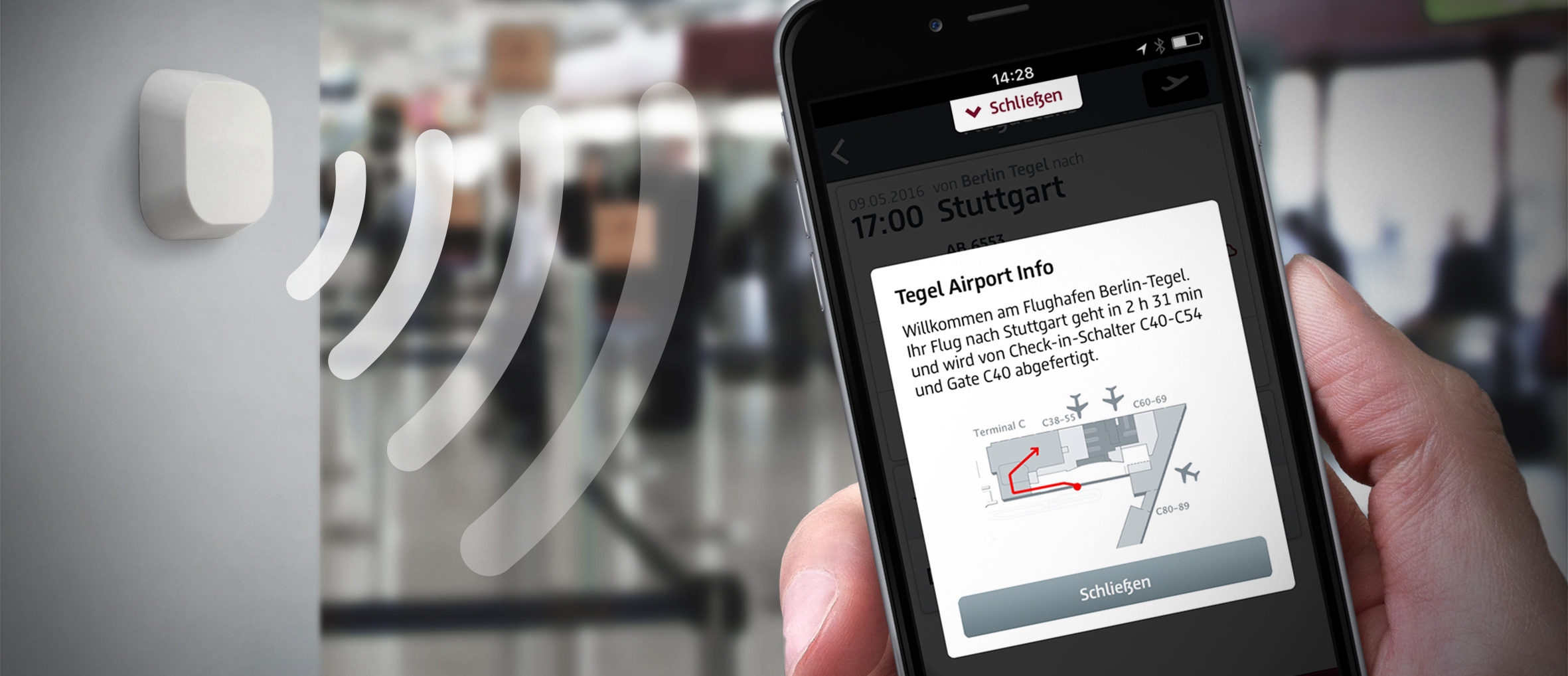 Relaxed holiday start: travelling made easy with the Berlin Airport App