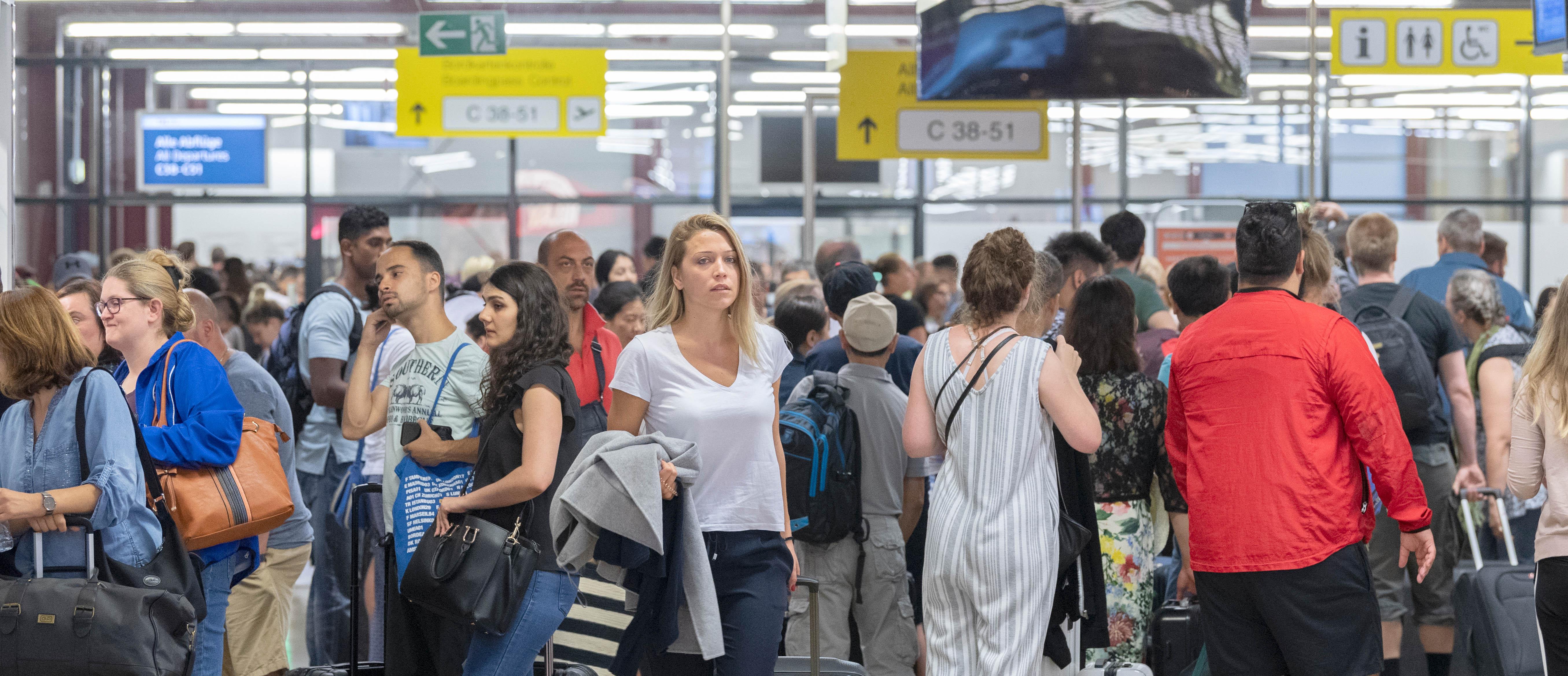 Passagierrekord 2018 mit fast 35 Millionen Passagieren