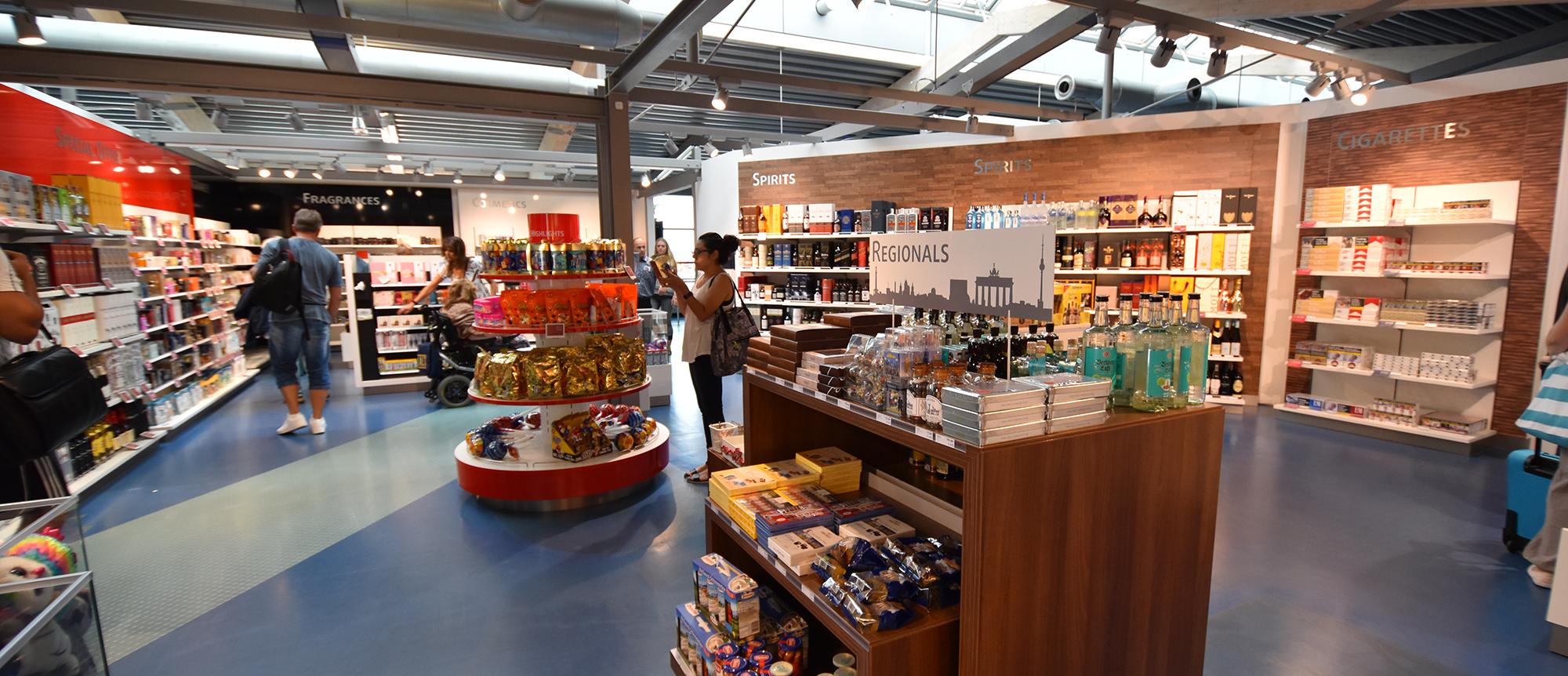 Re-opening of Heinemann Duty-Free Shops in Tegel, Terminal D