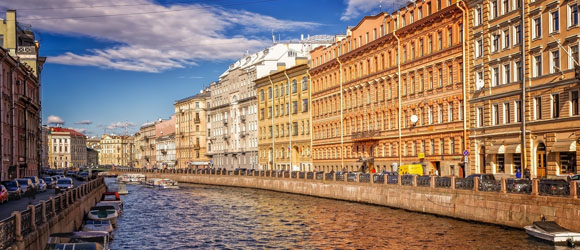 On the trail of Russia's beauty in St. Petersburg
