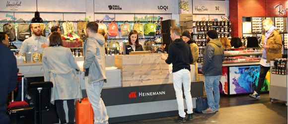 Typical Berlin – the new store at Schönefeld