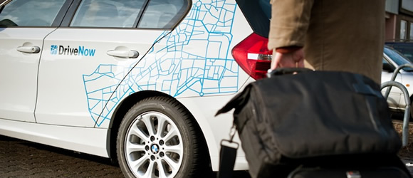 Relaxed arrival and departure: carsharing provider DriveNow now also at SXF