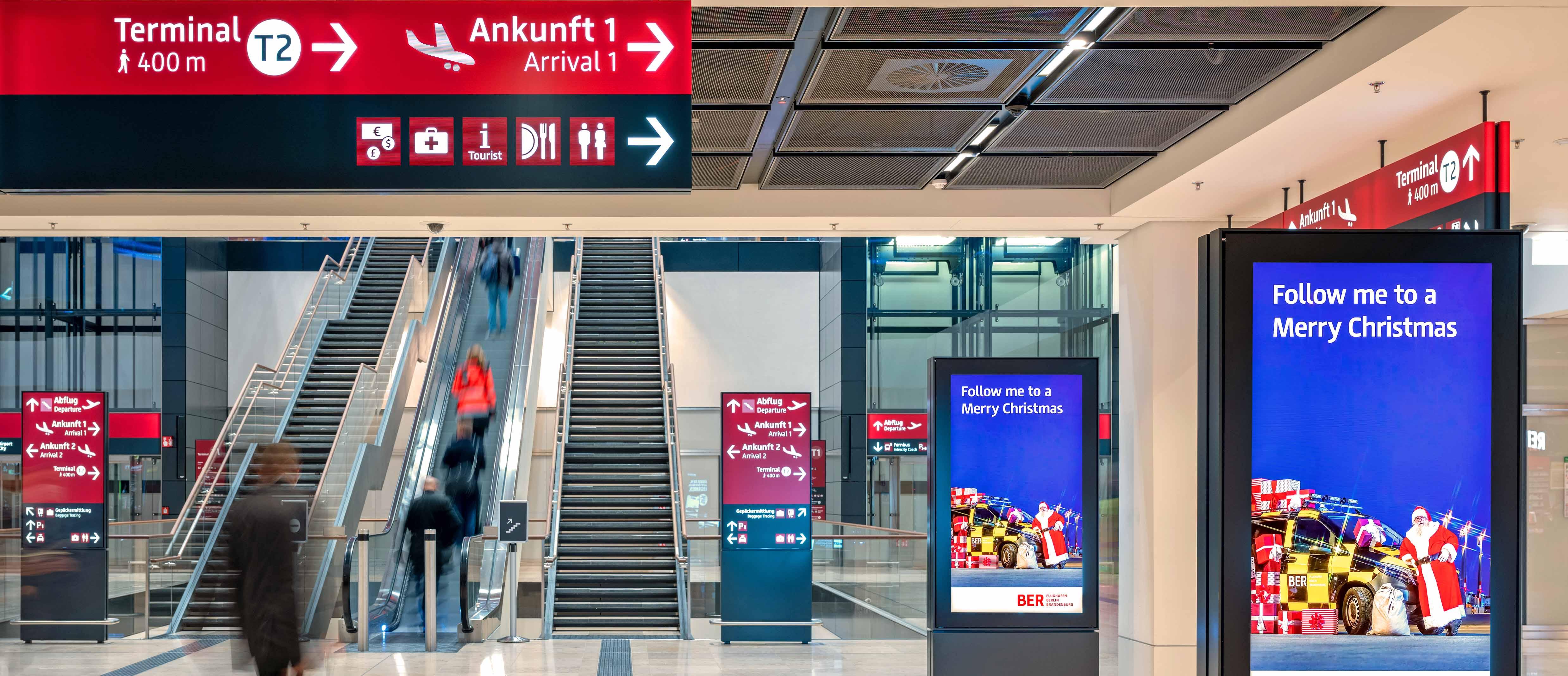 BER bietet Passagieren Hygiene auf höchstem Niveau