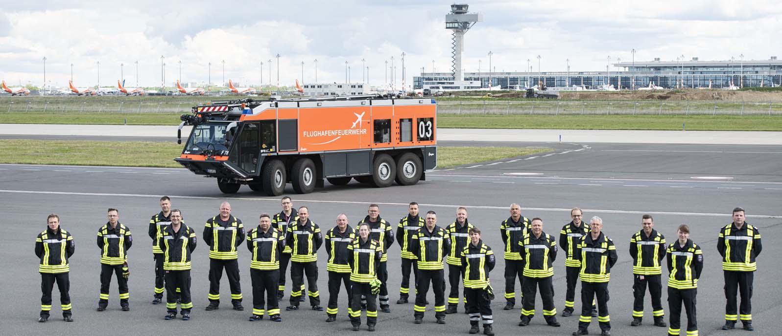#immerImDienstTag: Die Flughafenfeuerwehr am BER