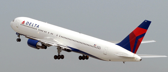 Mit Delta Air Lines nach New York